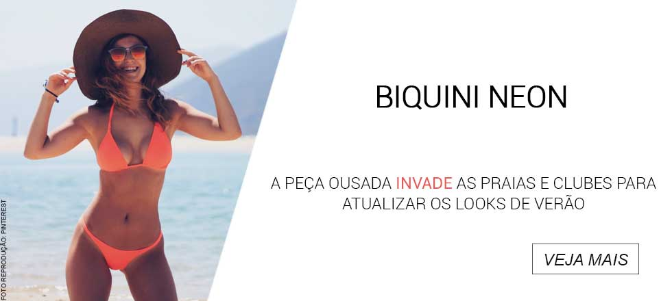 Como brilhar no verão com biquínis neon? - e-Trends